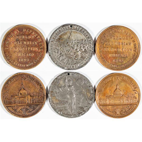 Columbian Exposition So-Called Dollars: HK-154 & HK -240  [140782]