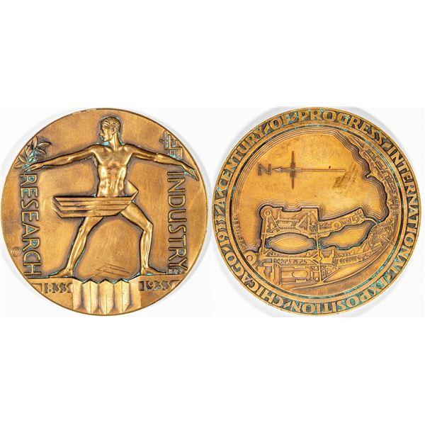 Century of Progress Exposition 1933-1934 Medal  [136243]