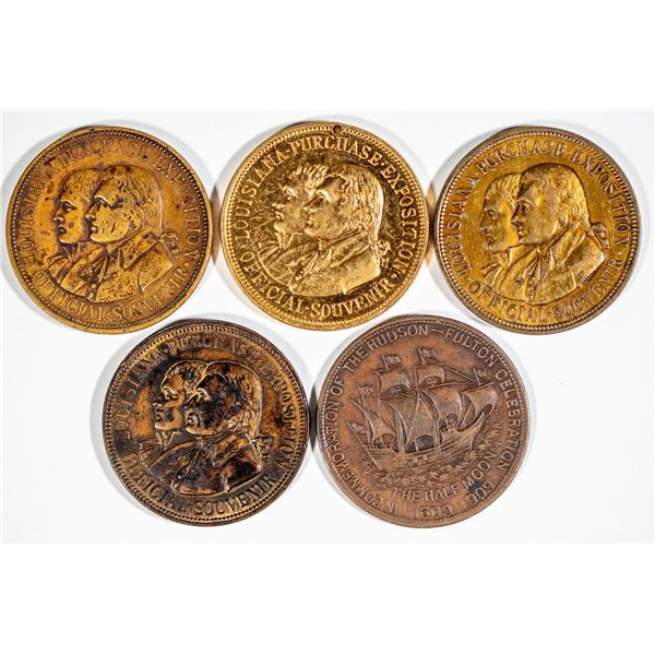 Louisiana Purchase Expo / Hudson-Fulton Celebration So Called Dollars  [140785]