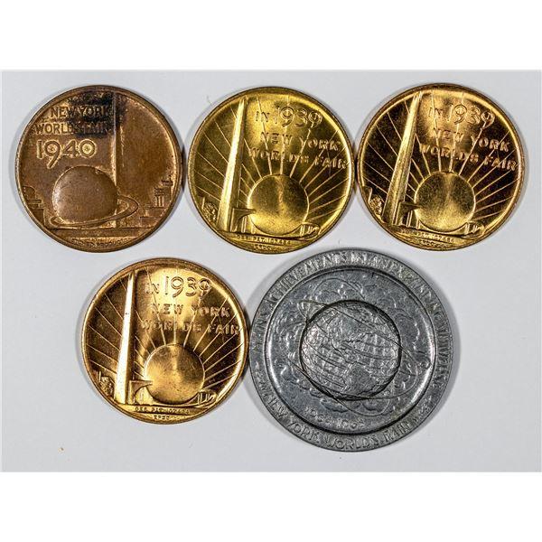 New York World's Fair Medal Collection  [136251]