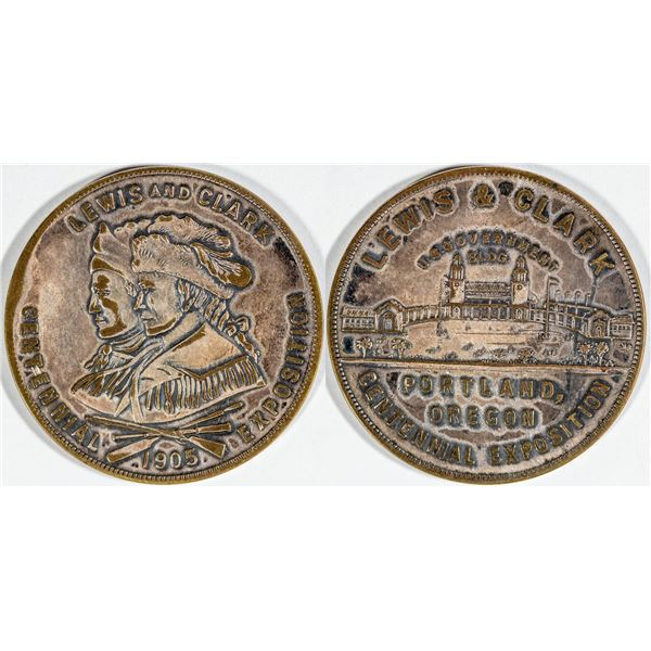 Lewis and Clark Centennial Exposition So Called Dollar HK-328  [140784]