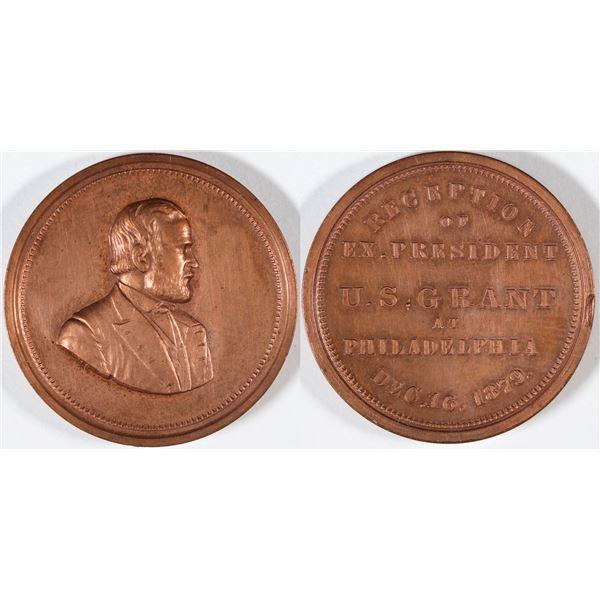 U.S. Grant at Philadelphia Medal 1879  [136182]