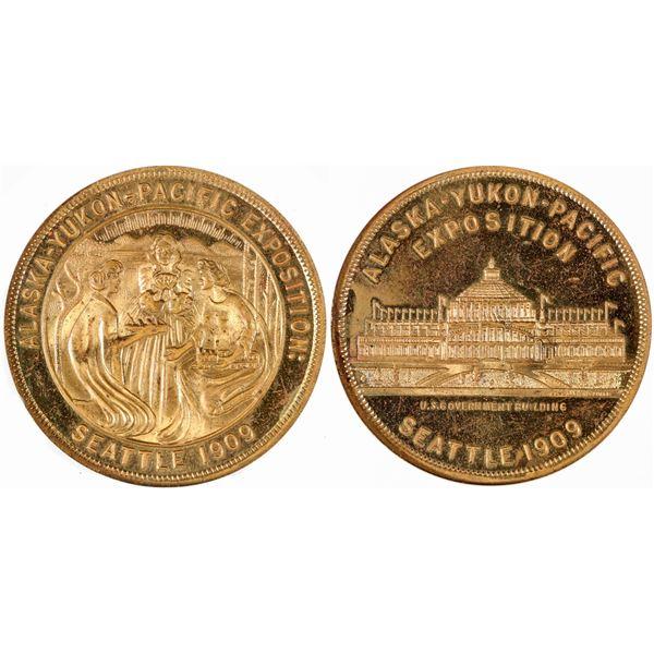 Alaska-Yukon-Pacific Expo So Called Dollar HK-367  [140669]