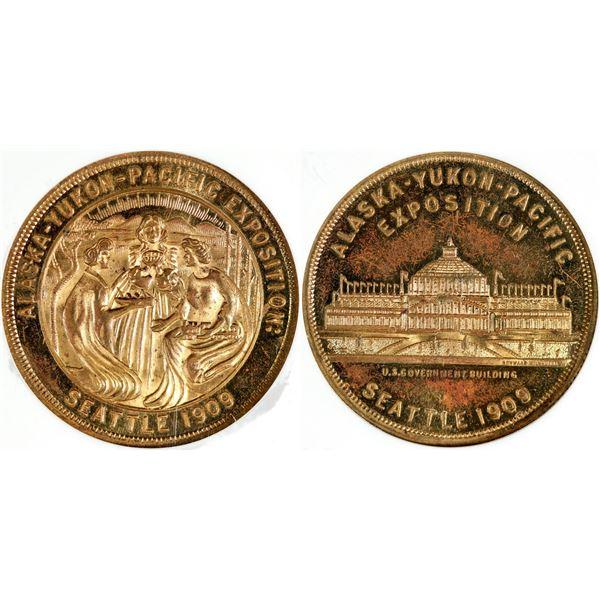 Alaska-Yukon-Pacific Expo So Called Dollar HK-367  [140681]