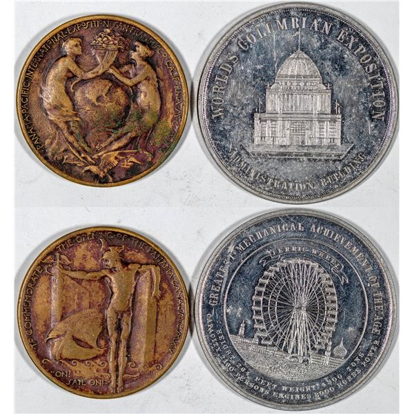 So Called Dollars: Columbian Exposition HK-170/Panama Pacific Exposition HK-400  [136257]