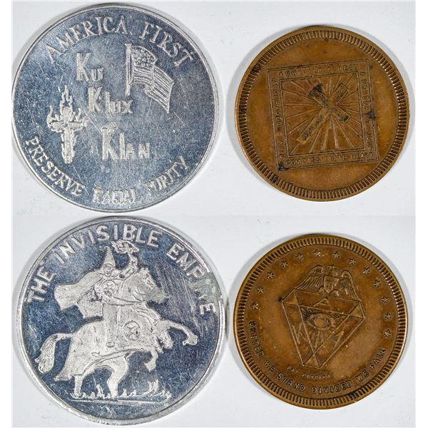 Ku Klux Klan Medals  [140796]