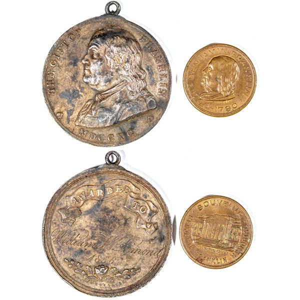 Benjamin Franklin Medals  [141022]