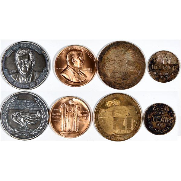 Herbert Hoover & John F. Kennedy Medals  [140794]