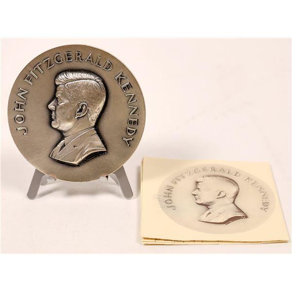 Silver John Fitzgerald Kennedy Inauguration Medal  [140162]