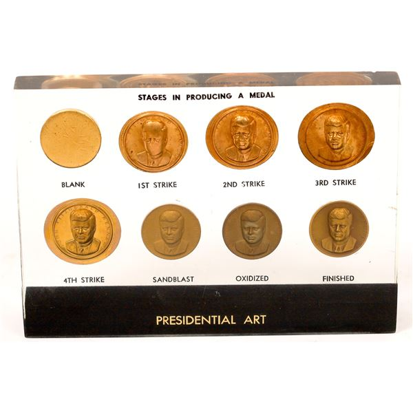 Presidential Art: Stages in Producing a Medal  [136198]