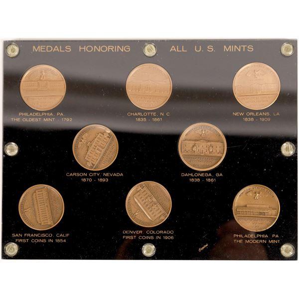 Medals Honoring All U.S. Mints  [138500]