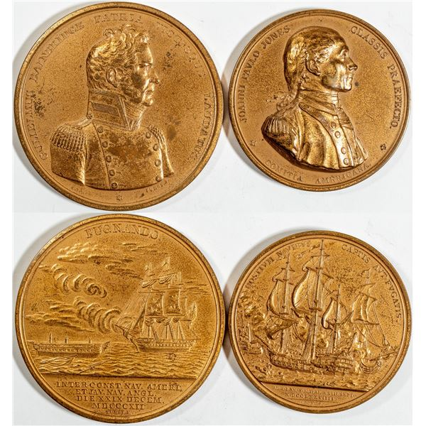 John Paul Jones/ Gulielmus Bainbridge Medals  [141020]