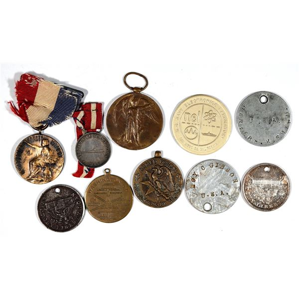 War Related Military Medals  [140797]