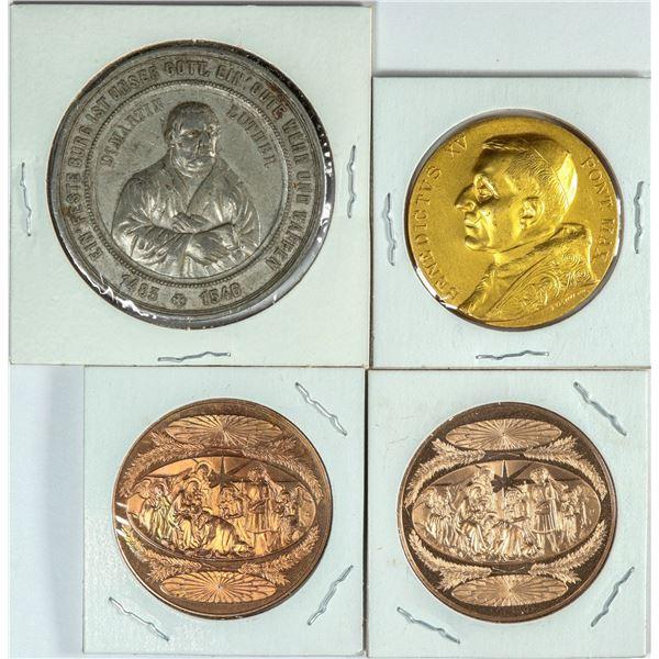 Four Religious Medals  [139002]
