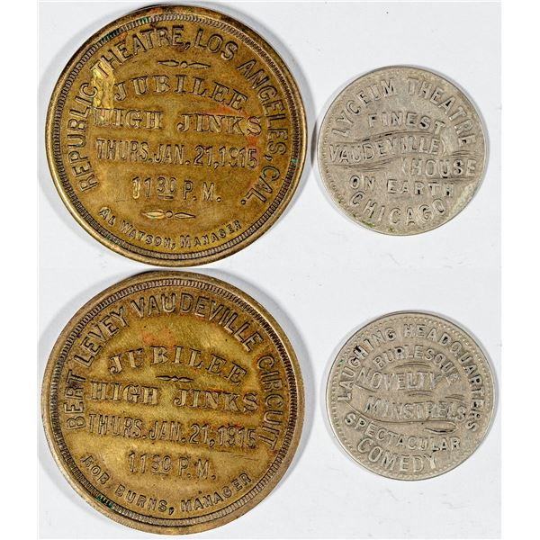 Vaudeville Medals  [141023]