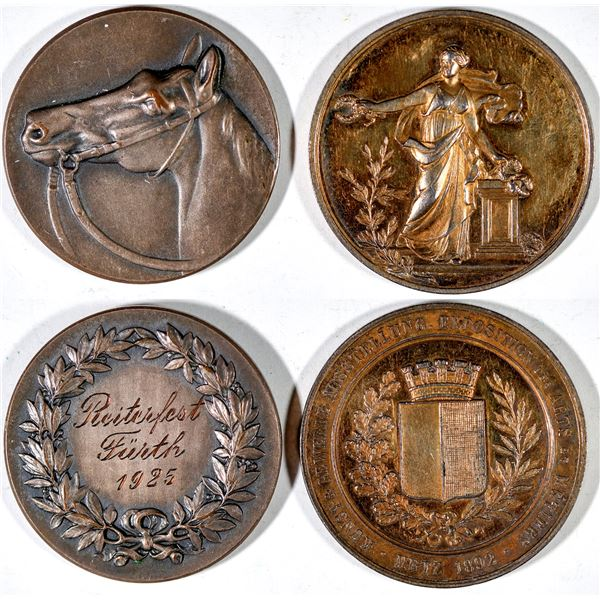 Two German Award Medals  [141193]