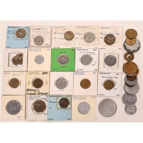 Sacramento Cigar Shop Token Collection  [138744]
