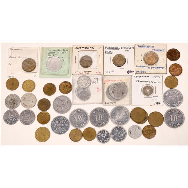 Sacramento Token Collection  [139410]