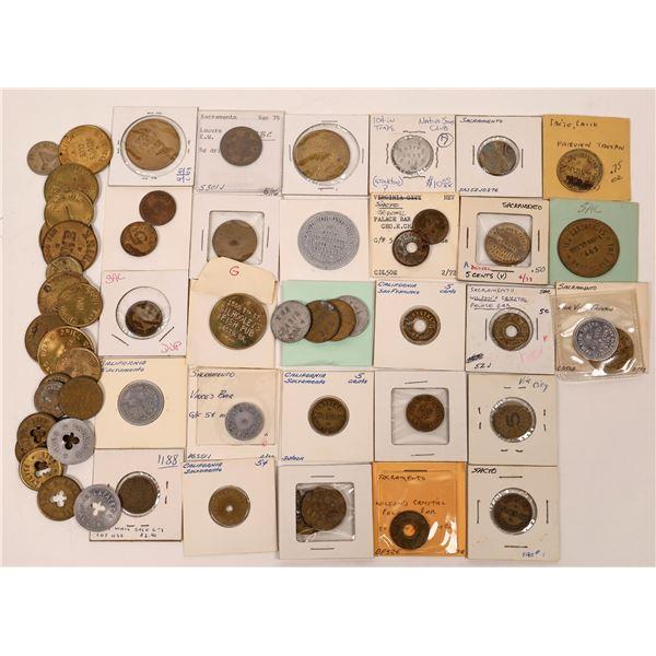 Token Collection from Sacramento Bars  [138745]