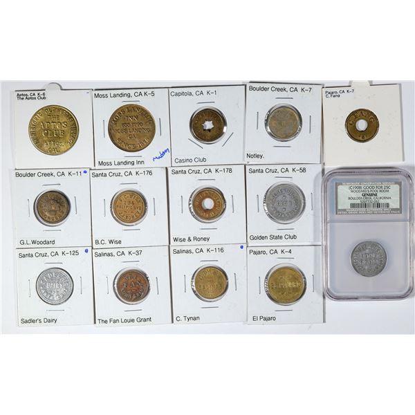 Santa Cruz Area Token Collection  [136174]