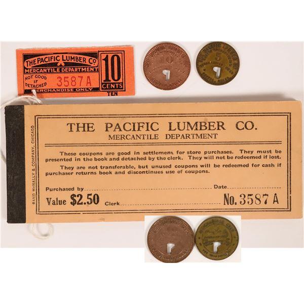 Scotia, CA: Pacific Lumber Co. Tokens & Scrip  [137819]