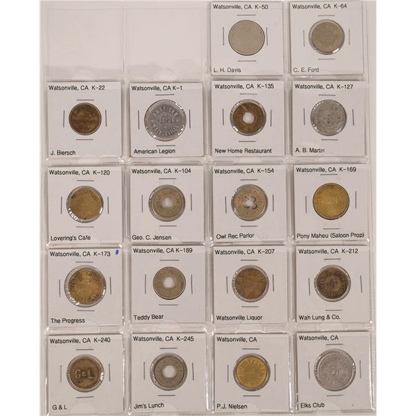 Watsonville Token Collection  [136173]