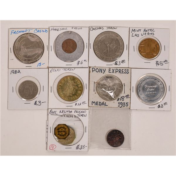 Nevada Token and Medal Collection  [141187]