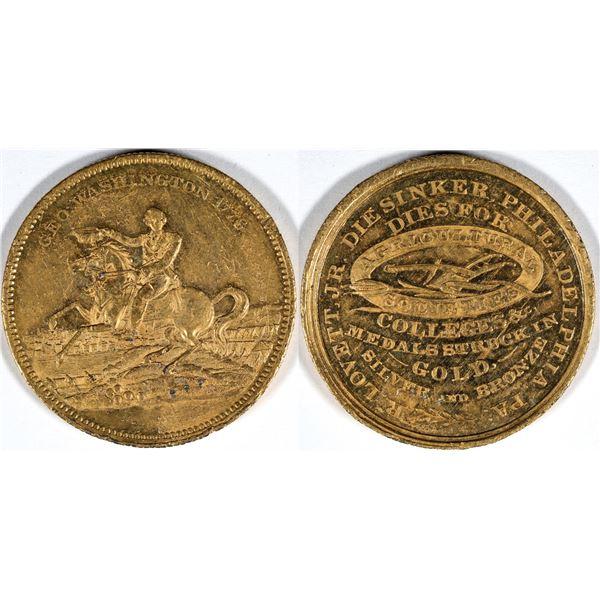 George Washington R Lovett Jr. Die Sinker Token  [136194]