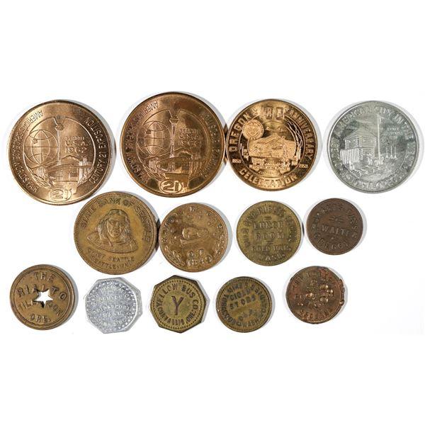 Oregon & Washington Token Collection  [141188]