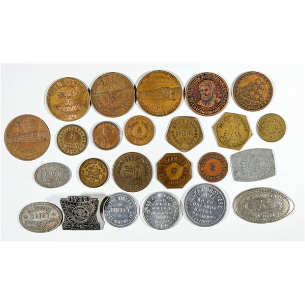Miscellaneous Token and Medal Collection  [141001]