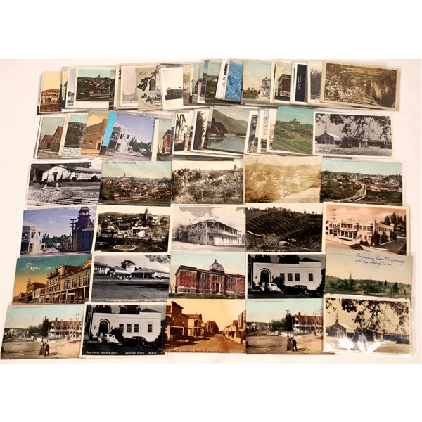 Postcard Collection: Vintage Cards from Auburn California  [136209]