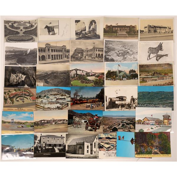 Barstow, CA Area Post Card Collection (31)  [139048]