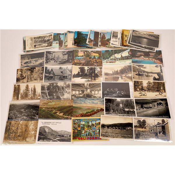 San Bernardino County Mountain Resorts Post Card Collection (73 pieces)  [138220]