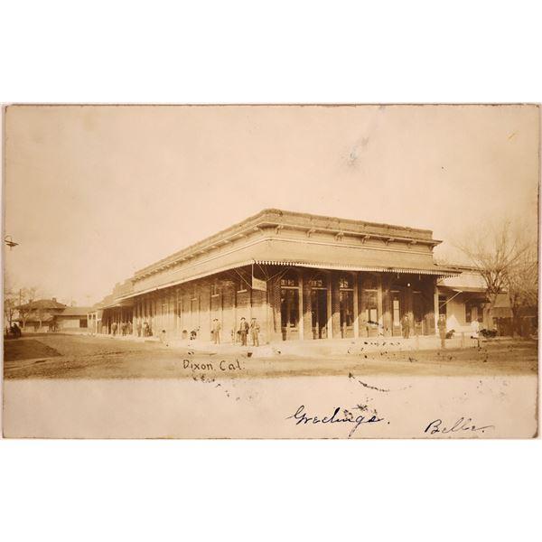 Early RPC of Dixon, California  [130442]