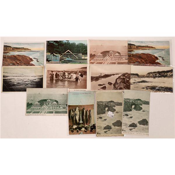 Moss Beach, California Postcard Collection  [130293]