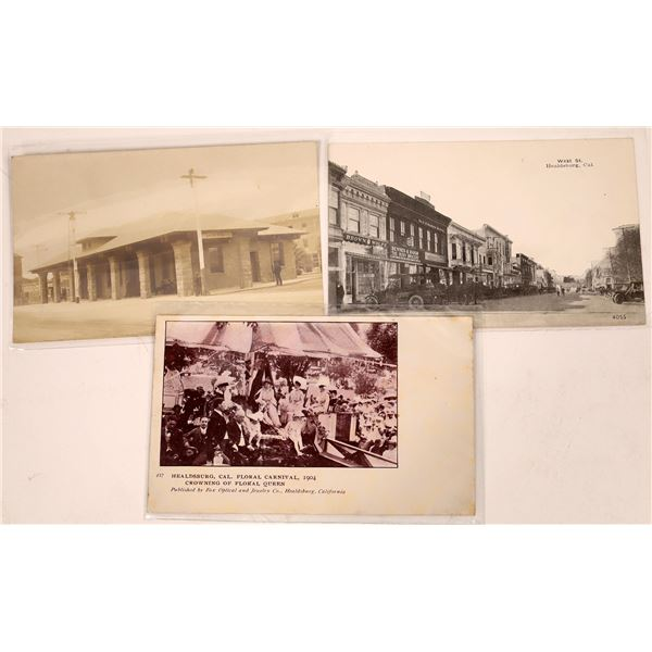 Healdsburg, Santa Rosa Nicer Postcards  [130444]