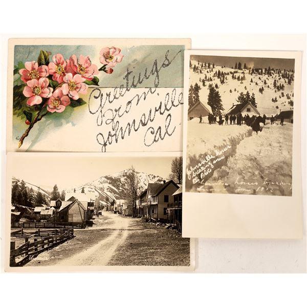 Johnsville, California Postcard Group  [130310]