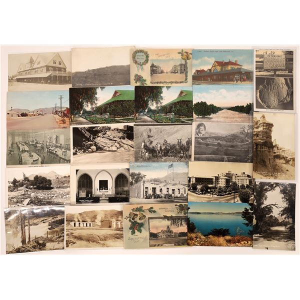 Kern County, California Post Card Collection (23)  [139050]