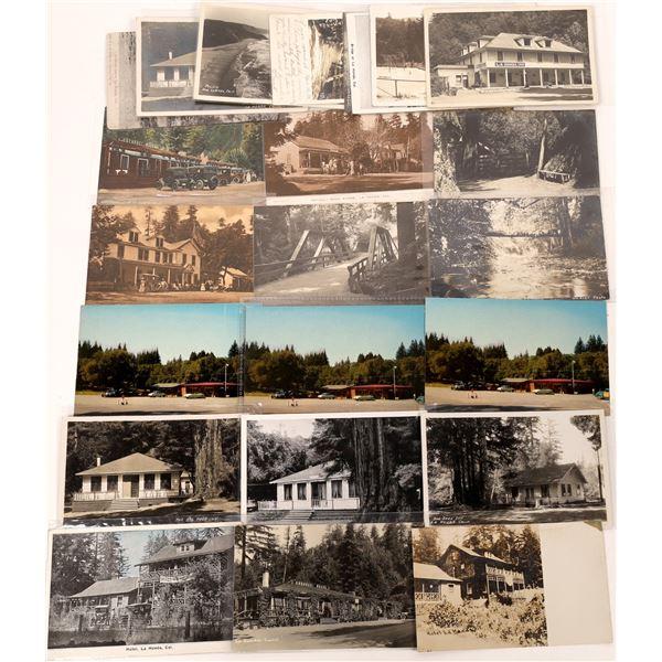 La Honda, California Postcard Collection  [130312]