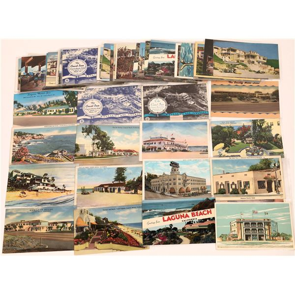 Postcard Collection Laguna Beach Hotels and Motels  [139869]