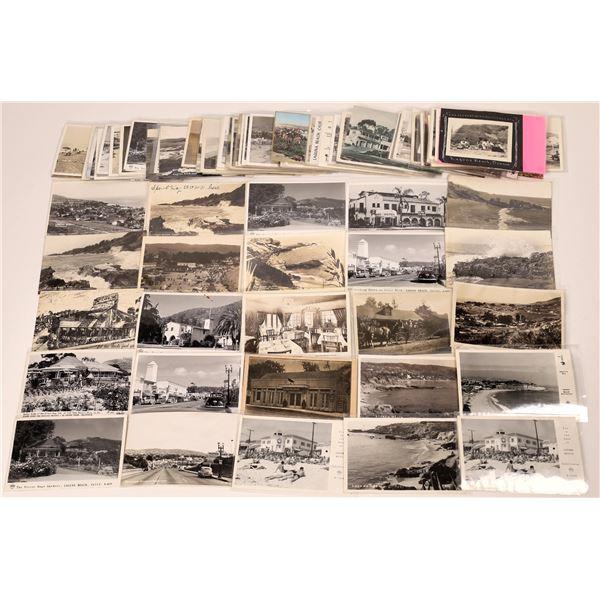 Postcard Collection Laguna Beach: Black & White Real Photo Postcards  [139858]