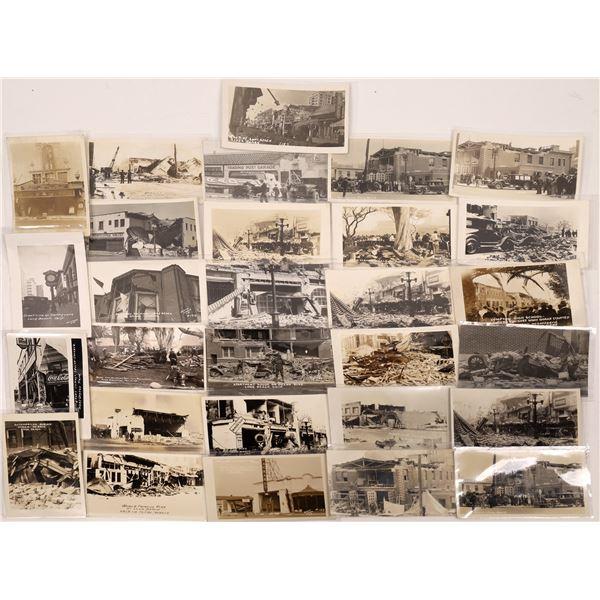 Long Beach California 1933 Earthquake RPC Collection  [130303]