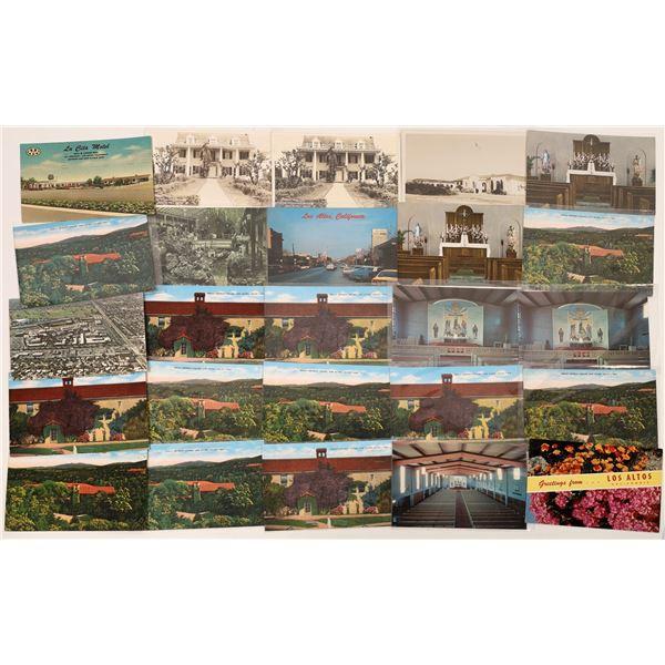 Los Altos, California Postcard Collection  [130304]