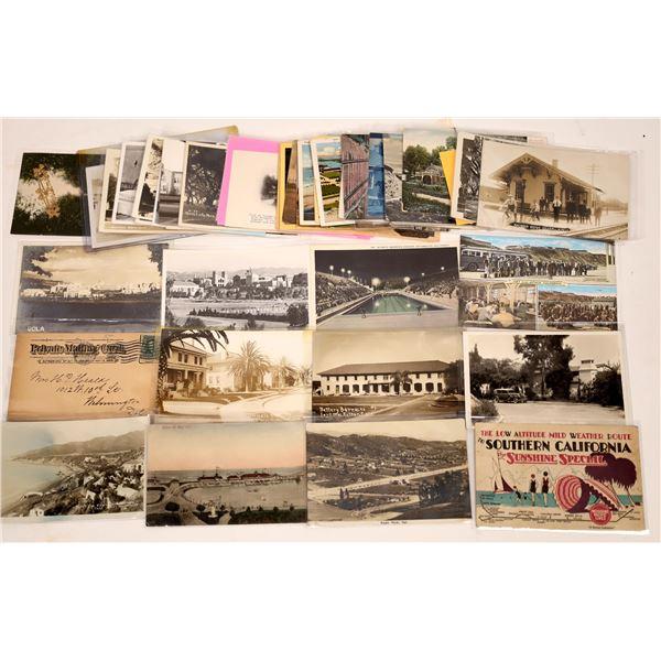 Los Angeles Area Postcard Collection  [130433]