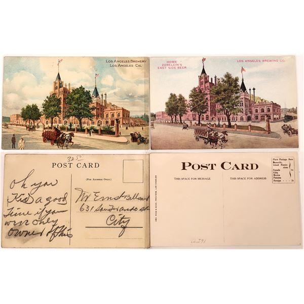 Los Angeles Brewing Company Postcards  [139083]