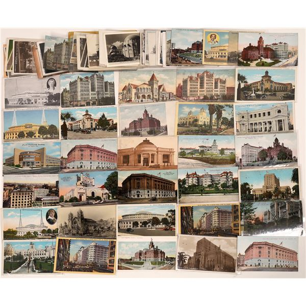Los Angeles Buildings Postcard Collection  [139084]