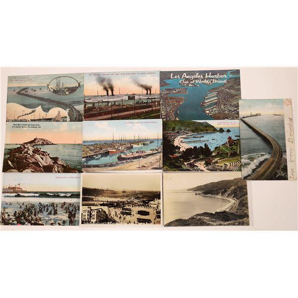 Los Angeles Harbor Postcard Group  [139082]