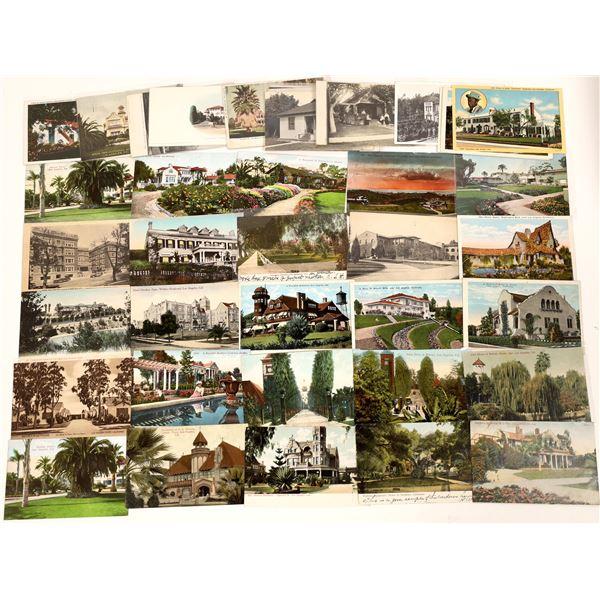 Los Angeles Homes Postcard Lots  [139092]