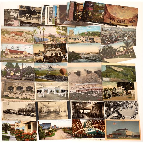 Los Angeles Odds and Ends Postcard Collection  [139096]