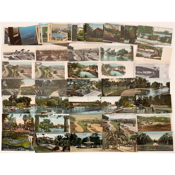 Los Angeles Parks Postcard Collection - about 65  [139091]